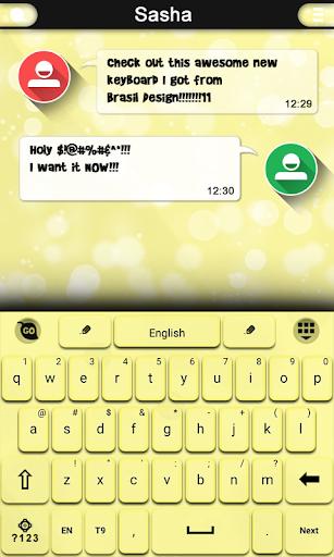 Yellow Keyboard