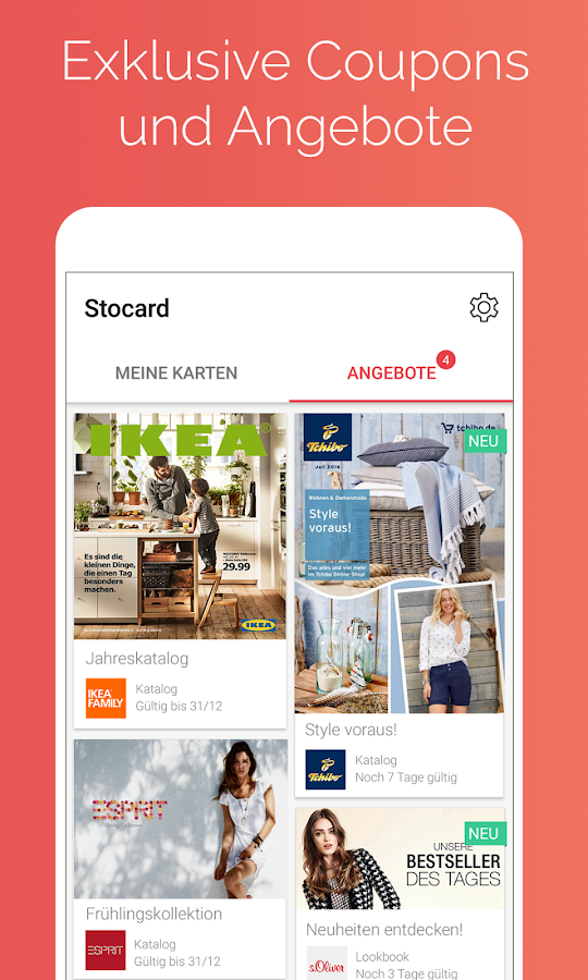 Stocard - Kundenkarten Wallet – Screenshot