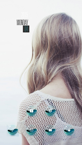 android Blond Girl Screenshot 2