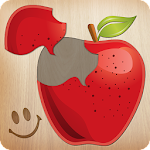 Food puzzle for kids ???????? Icon