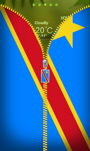 DR of the Congo Flag Zip Lock