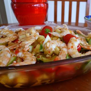 Mango, Pineapple & Prawn Salad Recipe