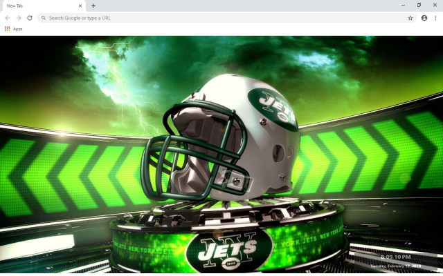New York Jets New Tab & Wallpapers Collection