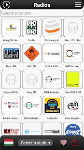 Hungary Radio FM - náhled