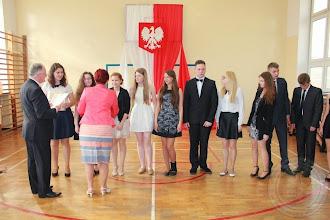 Photo: Zakończenie roku szkolnego klas III stypendyści