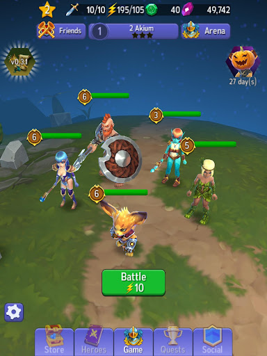 Hero Masters - Idle RPG Battler Hack, Cheats & Hints | cheat