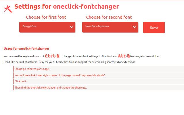 oneclick-fontchanger