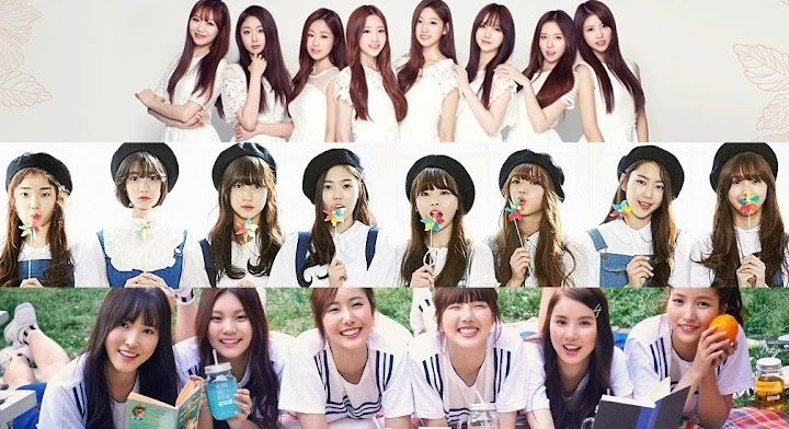 Kpop idole z 2015 roku