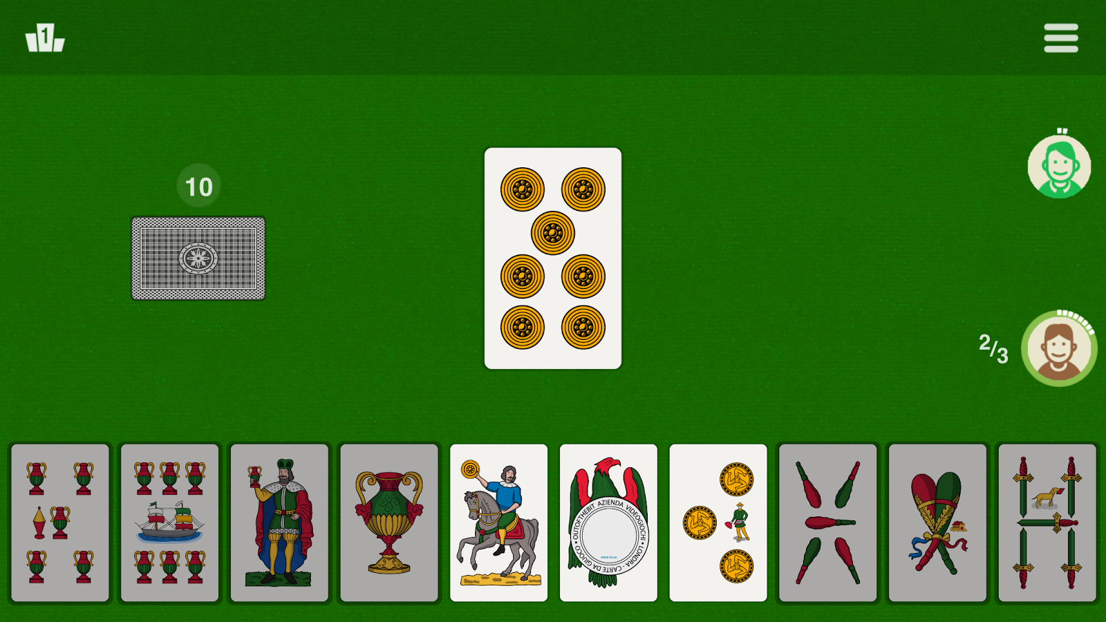 Tressette - Classic Card Games- screenshot