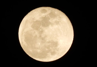Photo: 満月だぁ~ うぉ~っ