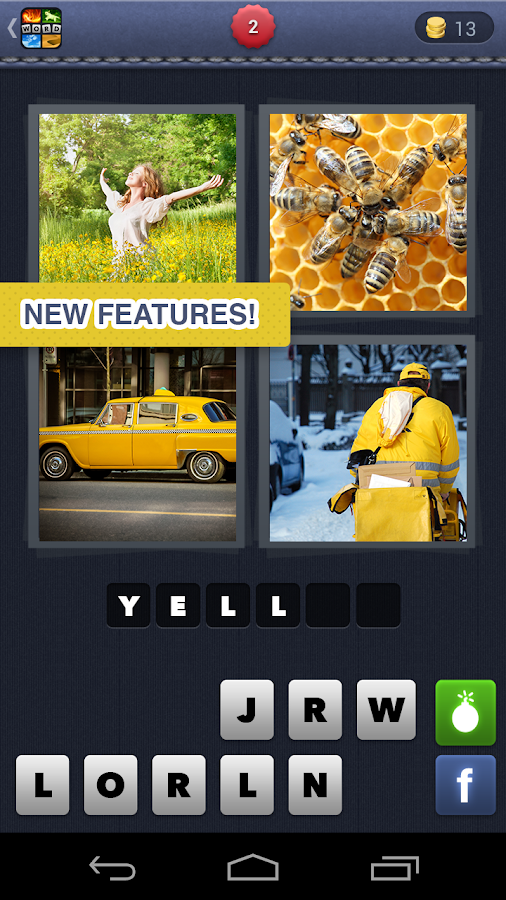 4 Pics 1 Word- screenshot