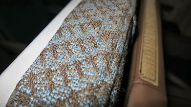 Photo: Cozy, breathable fabrics used in economy class seats on Singapore Air's new B777-300ER