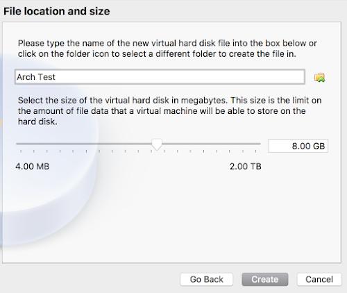 Arch Linux Default HDD 4
