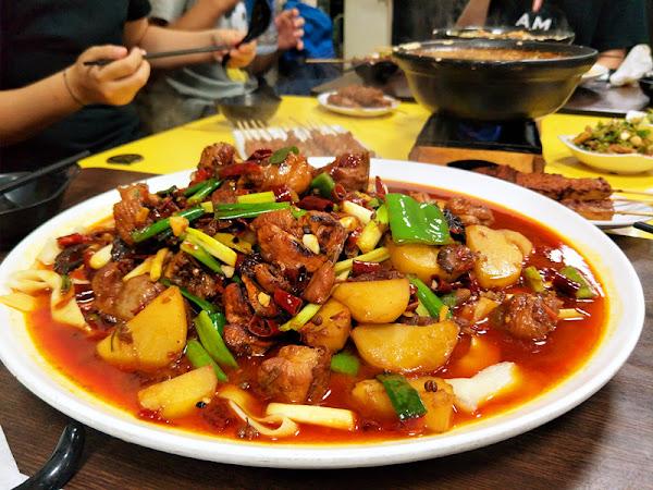 炒雞好吃太地道,小喬新疆羊肉串
