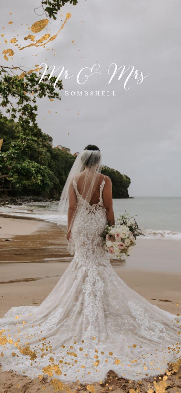 Mr. & Mrs. Bombshell - Wedding Template