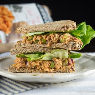 Chipotle Ranch Tuna Melt on 21-Grain Bread