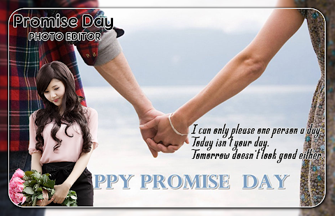 Promise Day Photo Editor - náhled