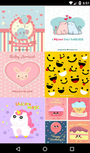 Cute Kawaii Wallpapers HD 1.1 screenshots 2