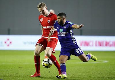 Zakaria Bakkali retrouve l'entraînement avec Anderlecht
