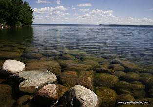 Photo: Shore of Lesser Slave Lake, Alberta's boreal forest