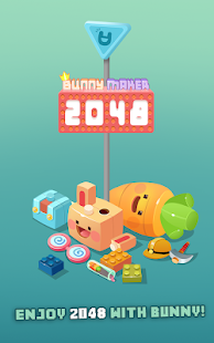 [VIP] 2048 Bunny Maker - bunny city building Screenshot