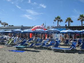 Photo: Allestimento in spiaggia - Albisola