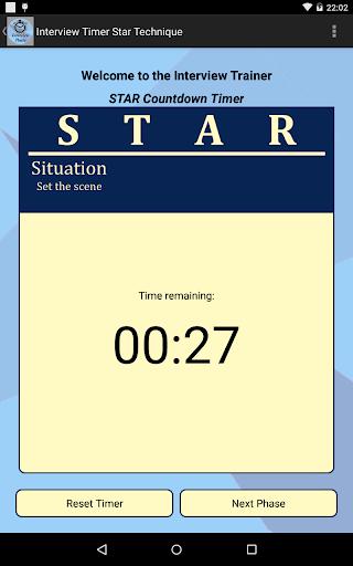 Interview STAR Timer Technique screenshot 9
