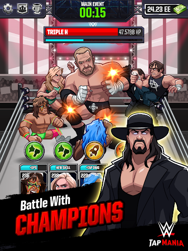 WWE Tap Mania: Get in the Ring in this Idle Tapper 17637.20.0 screenshots 9