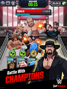 WWE Tap Mania- screenshot thumbnail