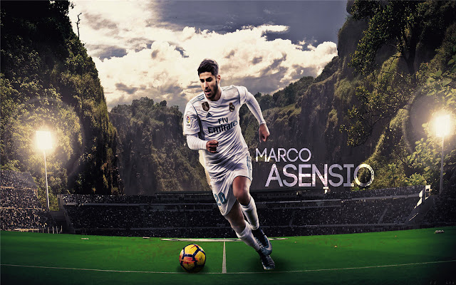 Marco Asensio Themes & New Tab
