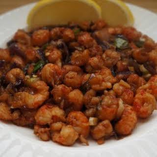 Spicy Langoustines.