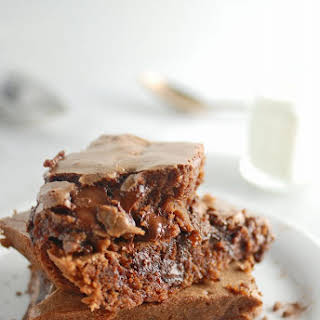 Chewy Chocolate Brownies.