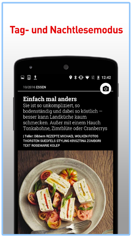 ESSEN & TRINKEN Food-Magazin- screenshot