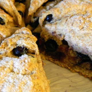 Whole Wheat Blueberry Scones.