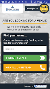Finder Venue- screenshot thumbnail