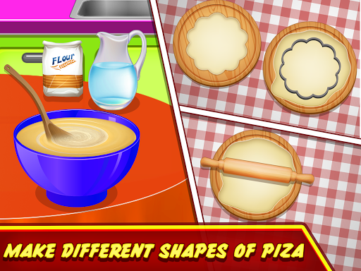 Pizza Maker Kitchen Cooking Mania android2mod screenshots 3