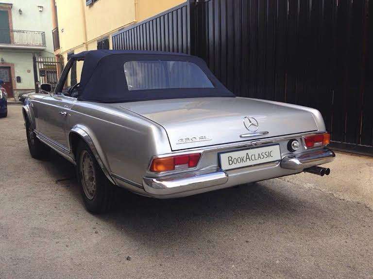 Mercedes Benz Sl 230 Pagoda Hire Napoli