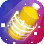 Bottle Flip Challenge 3D Icon