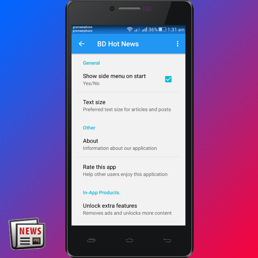 BD Hot News - Android Apps on Google Play