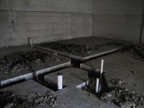 Photo: Plumbing for exam rooms