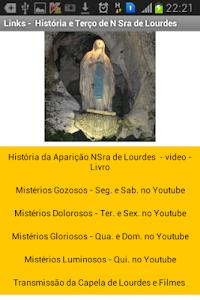 Nossa Senhora de Lourdes screenshot 0