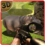 Angry Hippo Hunter Simulator Icon