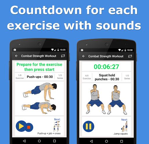 Combat Strength Workout PRO