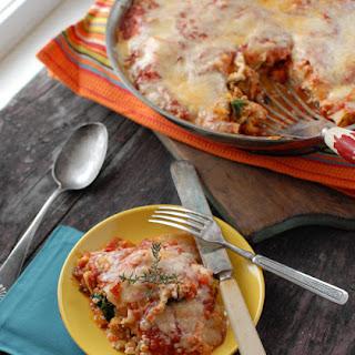 Spicy Sausage Skillet Lasagna