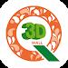 Q 벽지 시뮬레이션 (3D 인테리어) Icon