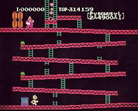 Photo: Donkey Kong (Popeye Edition)  https://en.wikipedia.org/wiki/Donkey_Kong_(video_game) https://en.wikipedia.org/wiki/Popeye_(video_game)