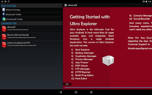 Ultra Explorer [Root Browser] 1.2.9 screenshots 11