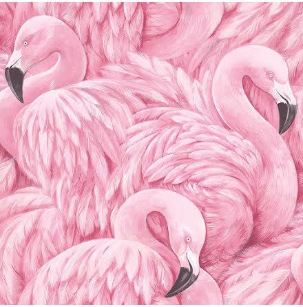 Flamingo Rosa Tapet
