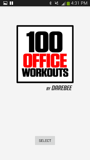100 Office Workouts Champion screenshot 1