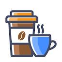 Caffeine Cafe, Aashiana, Lucknow logo